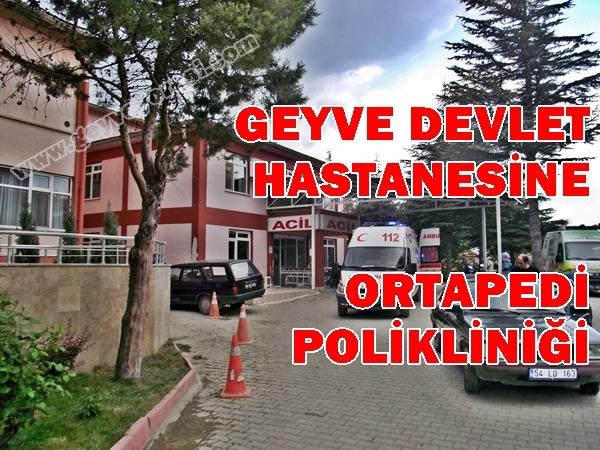 Geyve Devlet Hastanesi 1