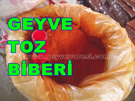 Geyve Toz Biberi 1